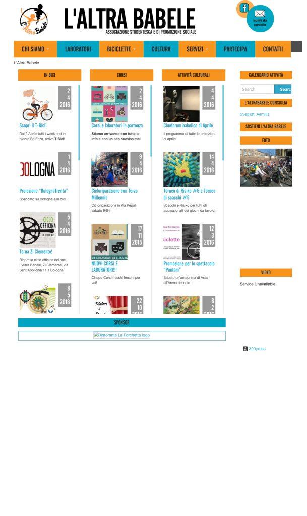 L'altra babele sito web